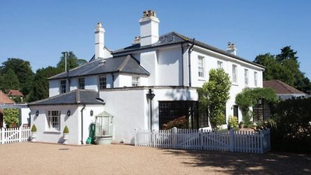 The White House, Old Catton was the most expensive property sold in Norfolk in January 2016. Photo: