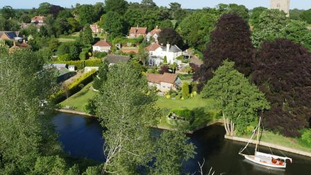 The Old Rectory, Belaugh was the second most expensive house sold in Norfolk in January 2016. Pictu