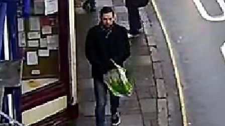 CCTV picture released by police