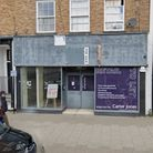 The former Blockbuster store in Newmarket's High Street could be turned into a cafe called Midpoint