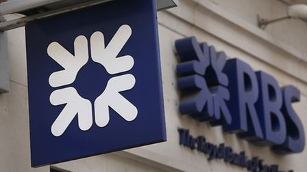 File photo dated 03/04/14 of a Royal Bank of Scotland sign, as the lender will post its eighth year