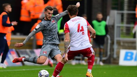 Tom James of Leyton Orient FC during Stevenage vs Leyton Orient, Sky Bet EFL League 2 Football at th