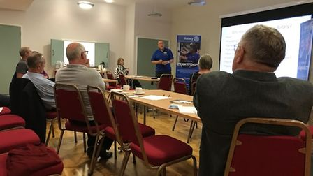 A meeting to discuss the potential resurrection of Dereham Rotary Club took place at Dereham Memorial Hall