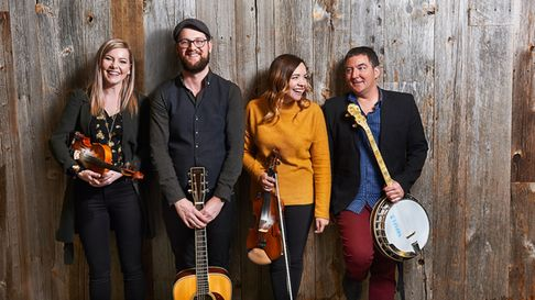 Celtic powerhouse folk band Còig who are bringing some musical fireworks to the Apex