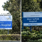 Visiting is to be suspended at Suffolk hospital's following a rise in the number of Covid patients