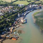 Mike Page Aerial Photo Library Mistley PICTURE COPYRIGHT MIKE PAGE