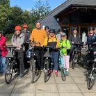 Electric bike ride to highlight Swaffham Prior's green energy scheme marks global climate change conference COP26.
