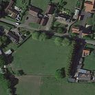 Pasture land at Peasenhall where 12 homes could be built