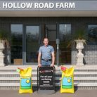 Martin Welham paid £1,000 for a bag of grass seed during a charity auction in Bury St Edmunds