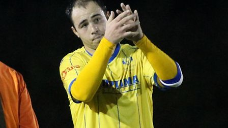 Sam Gaughran was on target for King's Lynn Town at Leamington.