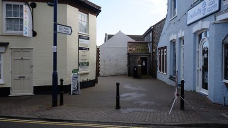 Public toilets in Sheringham in Lushers Passage. Picture: MARK BULLIMORE
