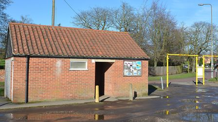 The toilets in Highfield Road car park, in fakenham. Picture: Chris Bishop