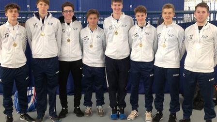Norfolk's under-18 boys tennis team have secured County Cup promotion.