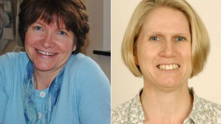 Sue Crossman of West Norfolk CCG (l) and Jo Smithson from Norwich CCG (r) both enjoyed pay rises of
