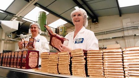 Caley's chocolate still being made in October 1997