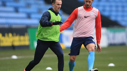 James Maddison, left, could soon have Three Lions on his shirt. Picture: NICK POTTS/EMPICS SPORT