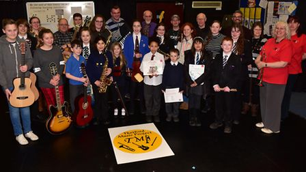 Thetford Music Project is held at Thetford Academy which runs individual and group music classes for