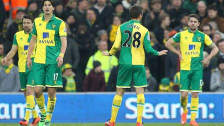 The Norwich City expressions tell a story that now needs to end. Picture: Paul Chesterton/Focus Imag