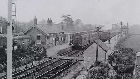 Stalham Railway Station pictured in about 1950. Picture: SUBMITTED