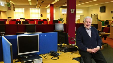 Closure of Insight CCI. MD Melvyn Hill.Picture: ANTONY KELLY