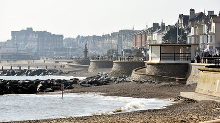 The £3.5 million coastal protection scheme at Lowestoft's South Beach is nearing completion with the