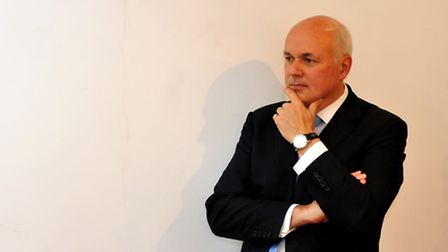 Iain Duncan Smith who quit the Cabinet, branding cuts to benefits for the disabled in George Osborn