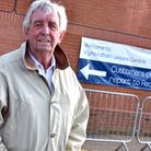 Douglas Munro is pictured outside Wymondham Leisure Centre. He and many other centre users are unhap