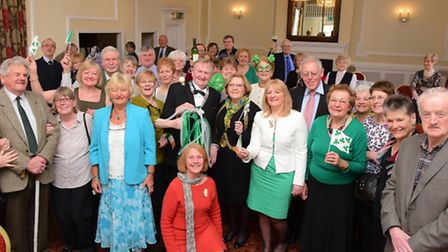 The Irish Society of East Anglia celebrate their 125th anniversary at The Maids Head, Norwich.PHOTO