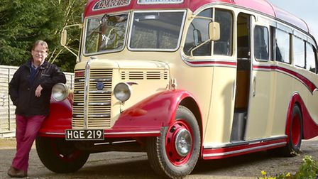 Nick Taylor bought a coach five years ago and restored it. He recently found out it was used for man