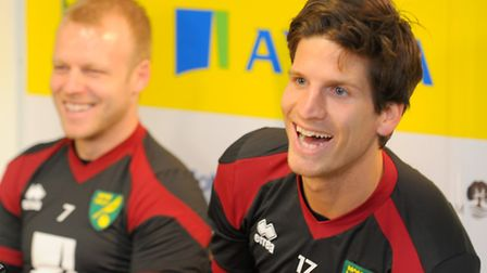 Timm Klose impressed on his first official day as a Canary.