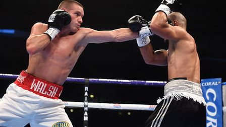 Liam Walsh looks set to achieve his dream this year of a world title shot.