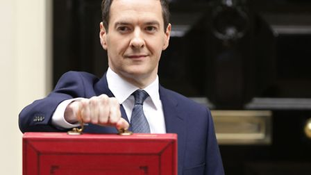 The Chancellor of the Exchequer George Osborne outside No 11 Downing Street. Yui Mok/PA Wire