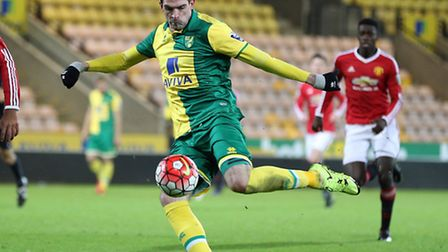 Norwich City striker Kyle Lafferty remains on the fringes at Carrow Road. Picture: Jasonpix