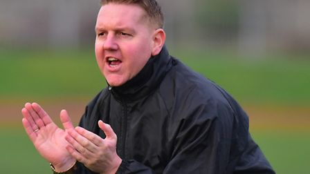 Great Yarmouth Town joint manager Adam Mason. Picture: Nick Butcher
