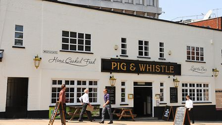 The Pig and Whistle. Picture: Denise Bradley