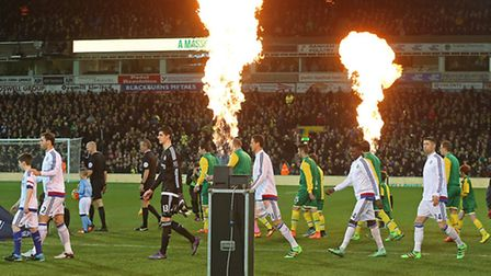 The recent visit of Chelsea was due to be the last midweek game of the current season at Carrow Road