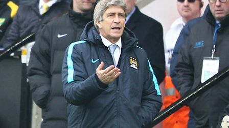 Manchester City manager Manuel Pellegrini admitted his side were below-par in attack against Norwich
