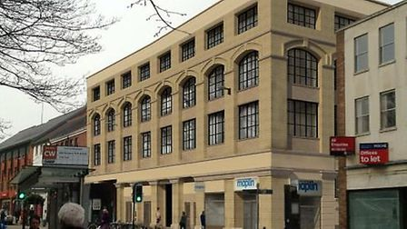 An artist's impression of what Castle House could look like if it is turned into flats. Pic: Submitt