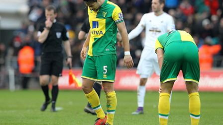 Norwich City have gone nine Premier League games without a win since beating Southampton in early Ja