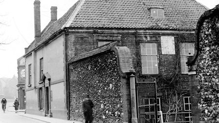 Howard House pictured in 1947.