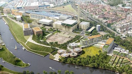 Architects' image of what the proposed Generation Park in Norwich would look like.