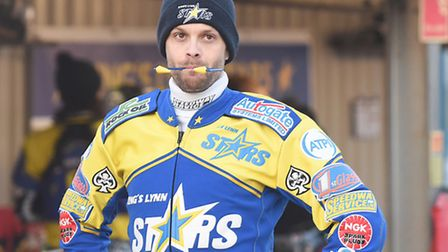Rory Schlein will miss Lynn's meeting this evening. Picture: Ian Burt