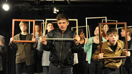 Norwich School pupils are performing It Snows at The Garage for the National Theatre's Connections F