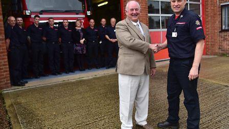 David Farrow retires from from his role in the Norfolk Fire Service.He is with Southern Group Manage