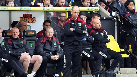 Norwich City manager Alex Neil refuted any suggestion his side wilted under the pressure. Picture by