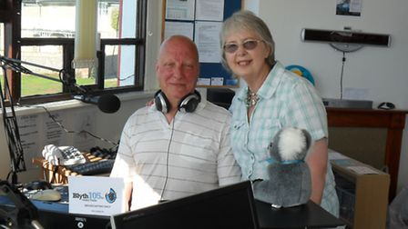 Bill and Sylvie Jagger founding members of Blyth Valley Community Radio in Southwold.