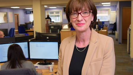 Jackie Wells, the managing director at ESE Direct.PHOTO BY SIMON FINLAY