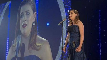 Emma Nuule will be singing at Norwich City Hall this evening.