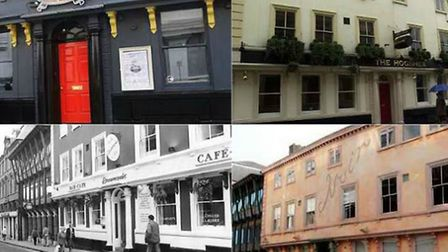 Do you remember these Queen Street bars in Norwich?