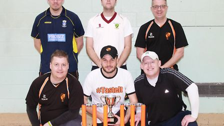 Diss have retained the South Norfolk Indoor League trophy which they first won during the inauguraly